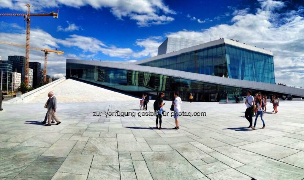 Opernhaus Oslo, Norwegen, © Nikolas Draper (16.07.2016)