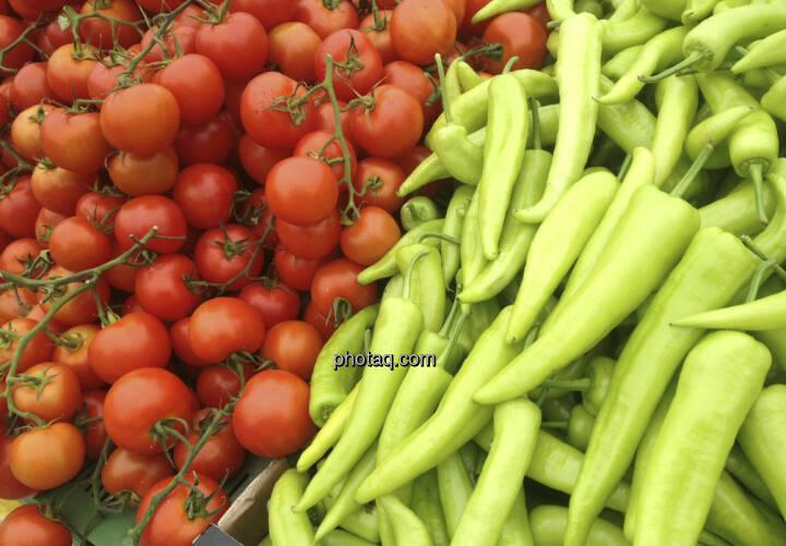 Ein Börsetag mit ausgewogenem Verhältnis von rot und grün