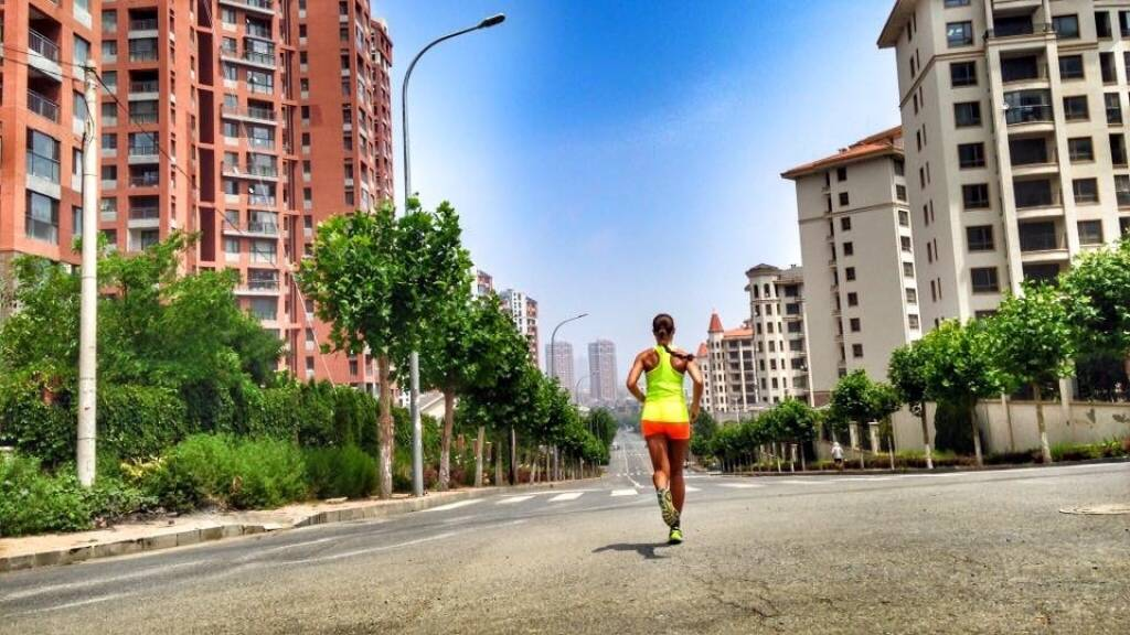 Monika Kalbacher in China (18.07.2016)
