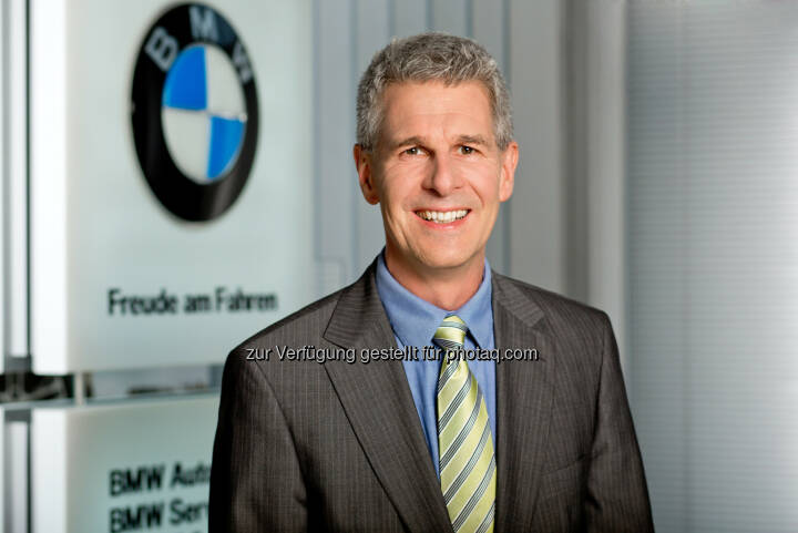 Hans-Peter Mathe (Geschäftsführung BMW Austria Bank GmbH & BMW Austria Leasing GmbH, Salzburg, Austria) : BMW Austria Bank feiert 25 Jahre Jubiläum und wächst weiter überdurchschnittlich. : Fotocredit ©BMW Group