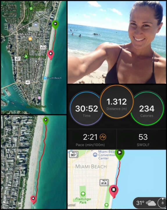 Monika Kalbacher, schwimmen, Miami, USA, Florida