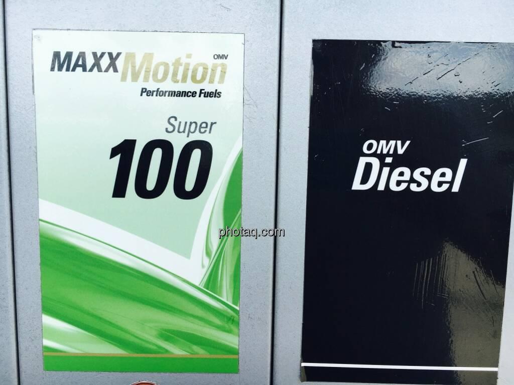 OMV, Diesel, Super, Tanken, Tankstelle, © Josef Chladek/photaq.com (25.07.2016)
