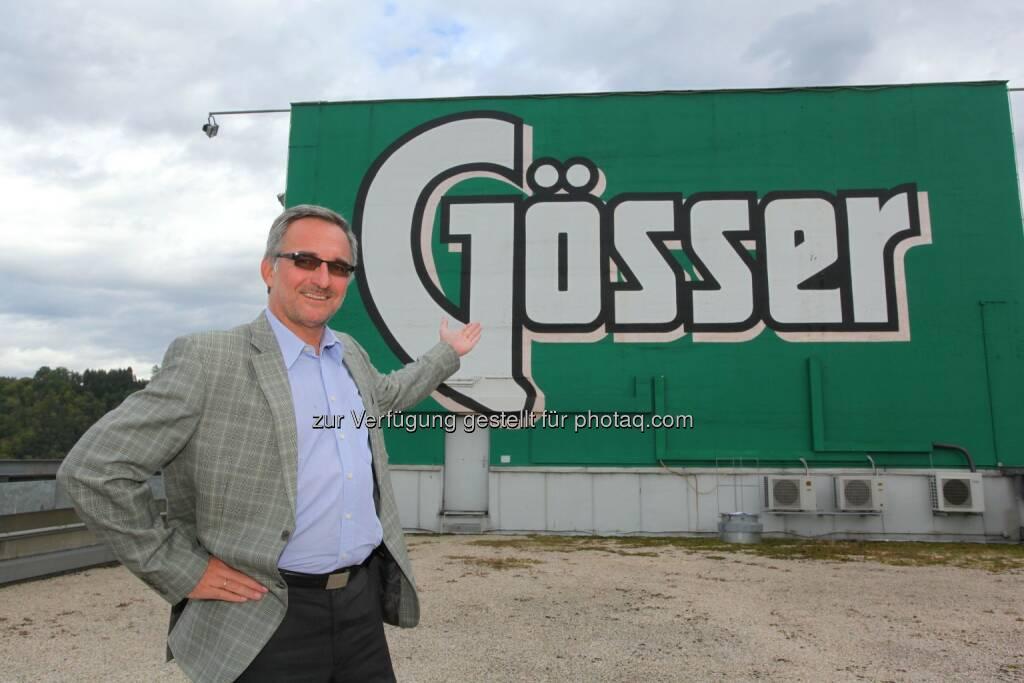 Andreas Werner (Braumeister Brauerei Göss) : Brauerei Göss : Neue Abfüllanlage eröffnet : Fotocredit: Brau Union Österreich, © Aussendung (26.07.2016)