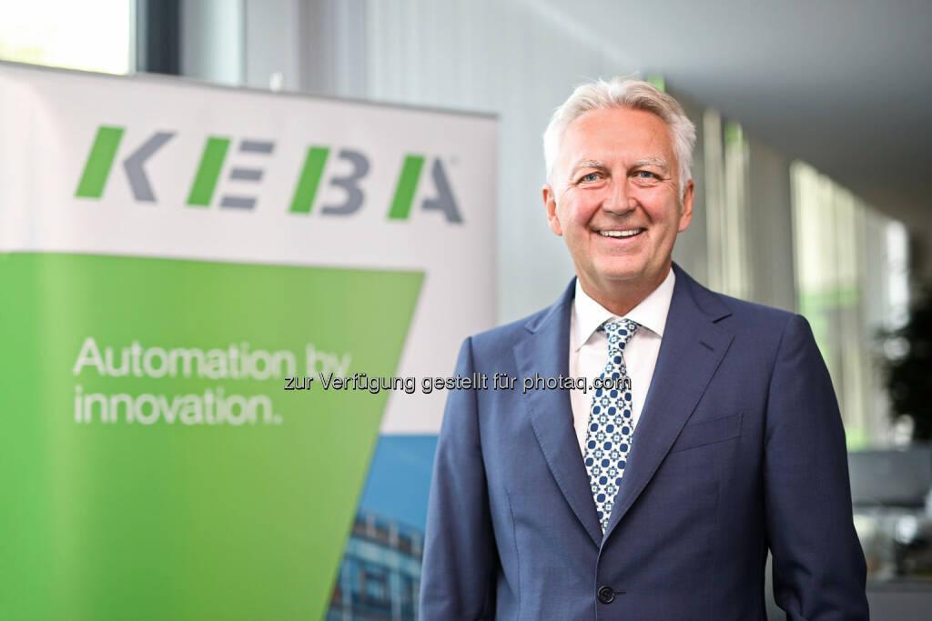 Gerhard Luftensteiner (Vorstandsvorsitzender KEBA AG) : KEBA übernimmt Selbstbedienungsspezialisten KEMAS – den deutschen Marktführer bei Übergabelösungen : Fotocredit: KEBA AG/APA-Fotoservice/Hartl, © Aussendung (26.07.2016)