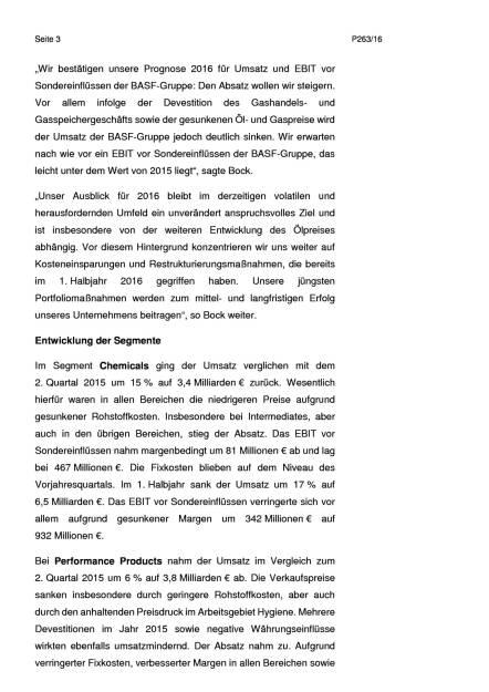 BASF: 2. Quartal 2016, Seite 3/6, komplettes Dokument unter http://boerse-social.com/static/uploads/file_1492_basf_2_quartal_2016.pdf (27.07.2016)