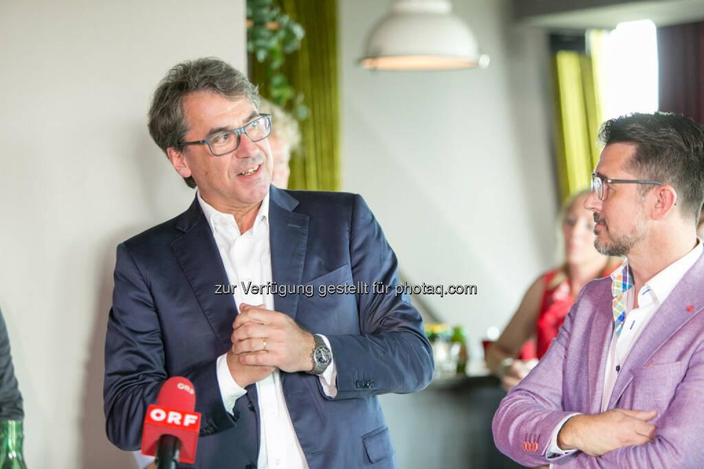 Stefan Pierer (CEO KTM Industries), Roman Sindelar, © Martina Draper (27.07.2016)