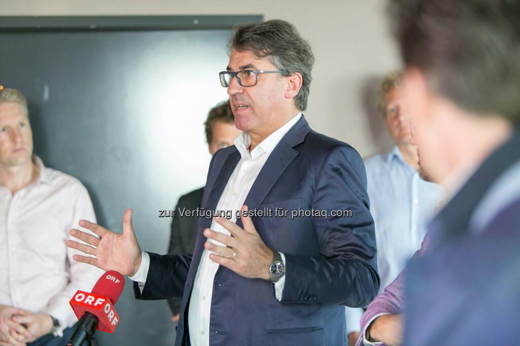 Stefan Pierer (CEO KTM Industries), © Martina Draper (27.07.2016)