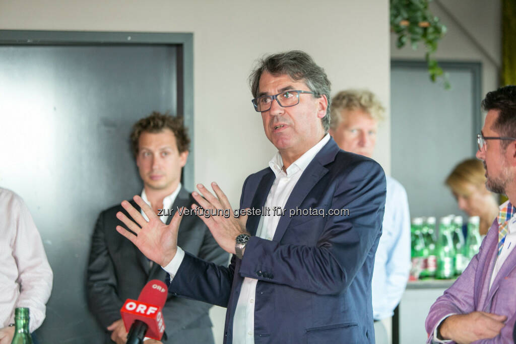 Stefan Pierer (CEO KTM Industries), © Martina Draper (27.07.2016)