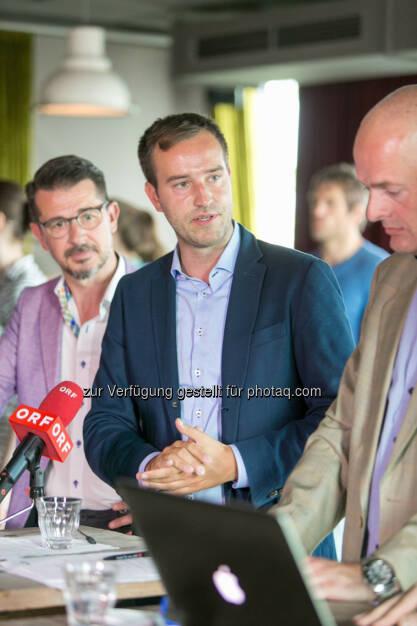 Roman Sindelar, Stefan Schnöll, Alex Vogel, © Martina Draper (27.07.2016)
