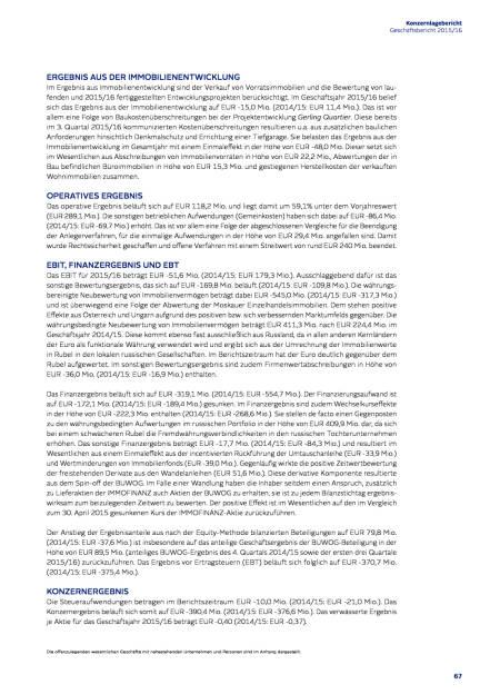 Immofinanz: Ergebnis-, Bilanz- und Cashflow-Analyse, Seite 3/6, komplettes Dokument unter http://boerse-social.com/static/uploads/file_1508_immofinanz_ergebnis-_bilanz-_und_cashflow-analyse.pdf (27.07.2016)