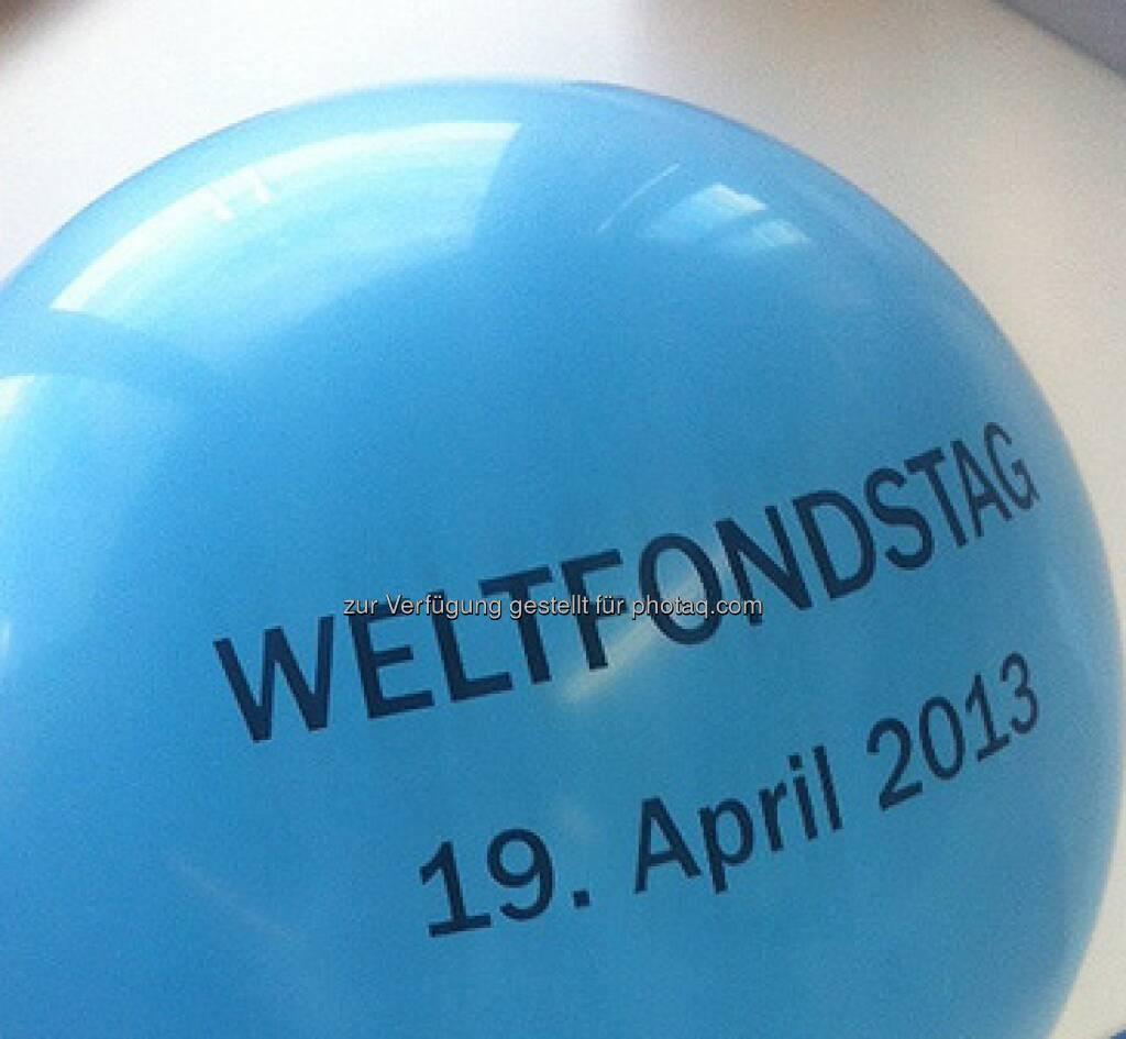 Weltfondstag: 19. April 2013, © (div. Sparkassen) (23.04.2013)