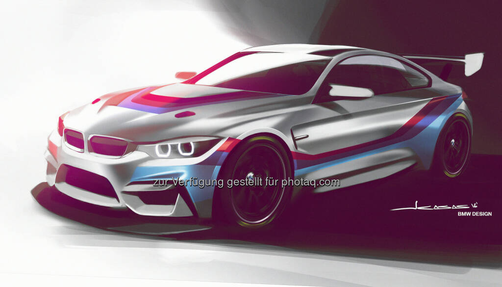 BMW M4 GT4 : BMW Motorsport : Ab der Saison 2018 Nachfolger des erfolgreichen BMW M3 GT4 : ©BMW Group, © Aussendung (28.07.2016)