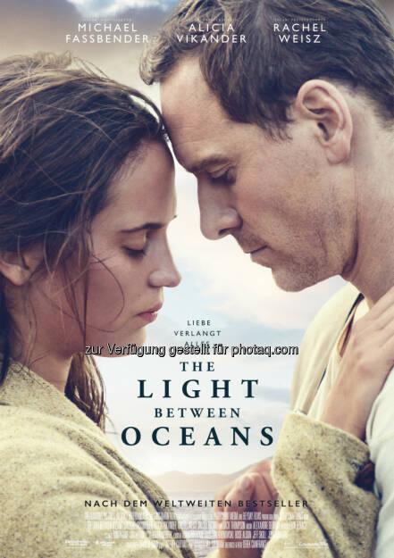 """""""The Light Between Oceans"""", Hauptplakat: Weltpremiere im Wettbewerb von Venedig : Fotocredit ©2016 Constantin Film Verleih GmbH, © Aussendung (28.07.2016)"""