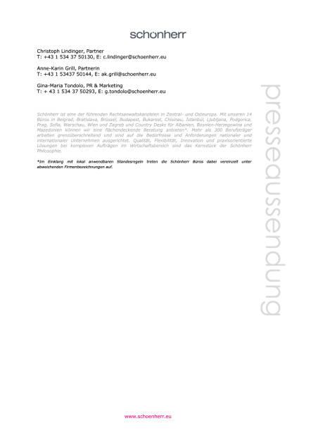 Schönherr: Investitionsschutz-Schiedsverfahren zugunsten der Republik Montenegro , Seite 2/2, komplettes Dokument unter http://boerse-social.com/static/uploads/file_1524_schonherr_investitionsschutz-schiedsverfahren_zugunsten_der_republik_montenegro.pdf (28.07.2016)