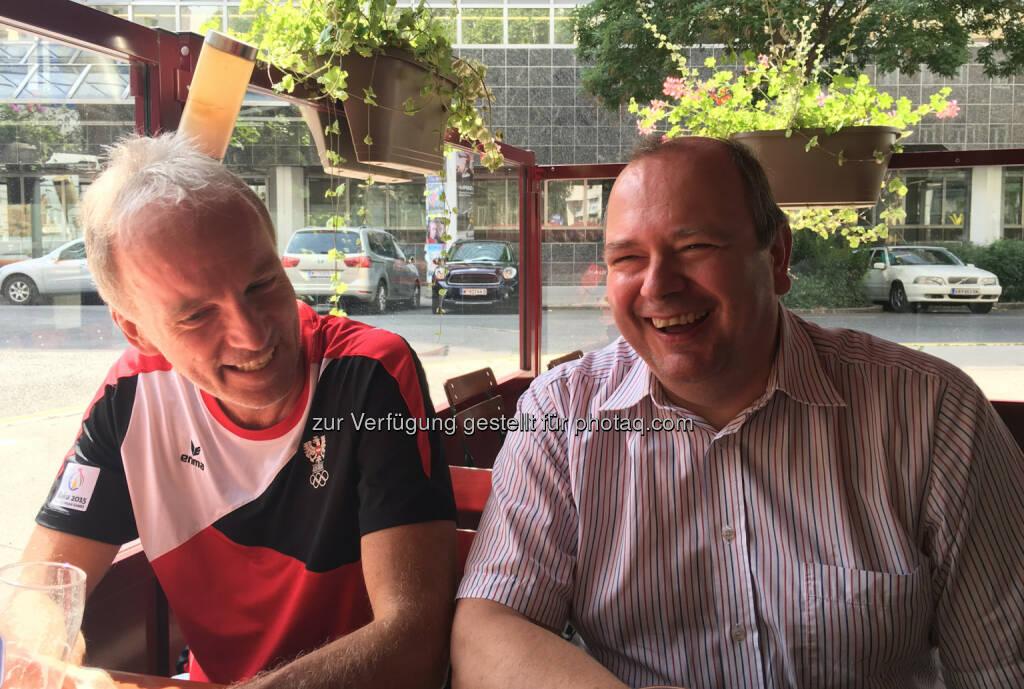 Danach mit Roland Meier brainstormen (28.07.2016)