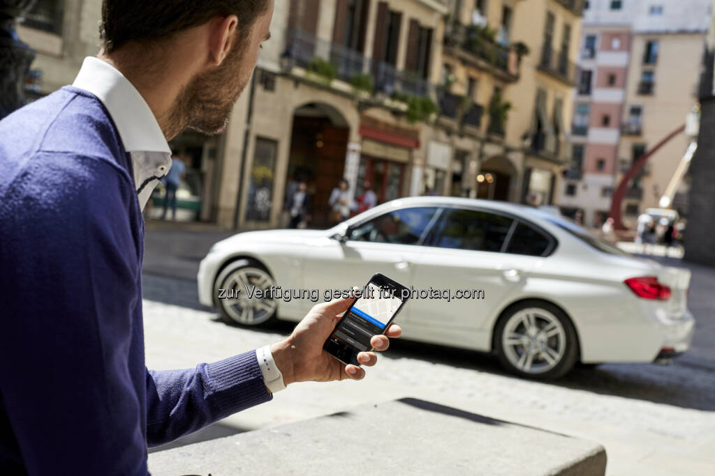 BMW Connected : BMW Group Innovationstage 2016 : Premiere von BMW Connected – der personalisierte, digitale Mobilitätsassistent von BMW : Launch im August 2016 in Europa : Fotocredit: BMW Group, © Aussendung (29.07.2016)