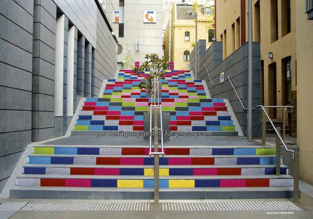 Die Treppe aus dem Intercell-Geschäftsbericht 2012 (c) Intercell (23.04.2013)
