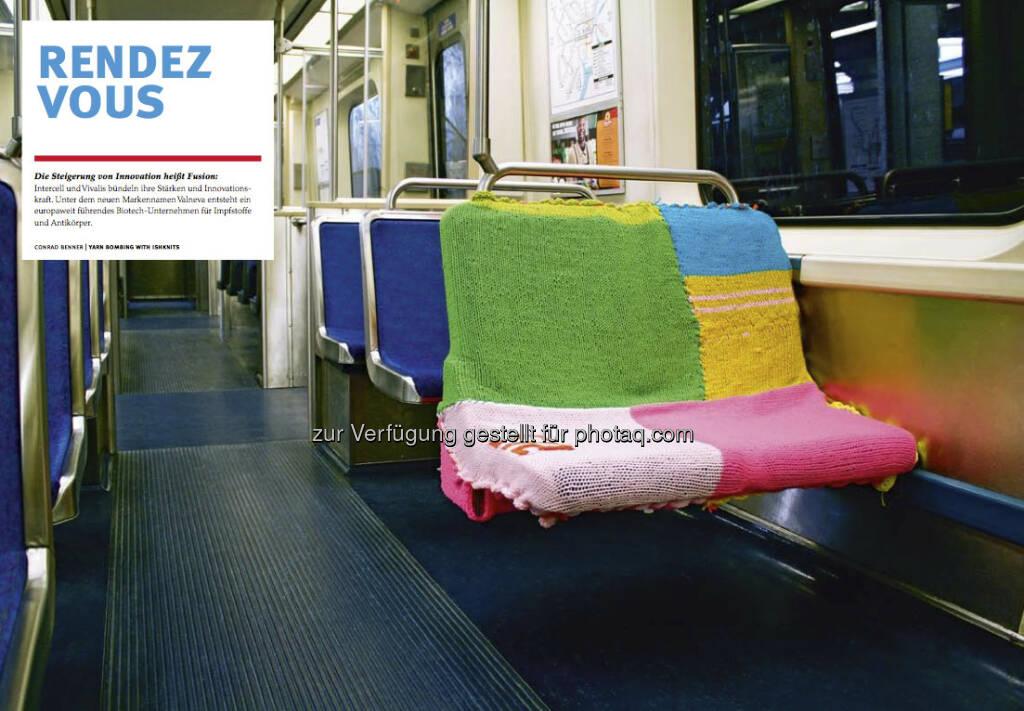 Die U-Bahn-Sitze aus dem Intercell-Geschäftsbericht 2012 (c) Intercell (23.04.2013)