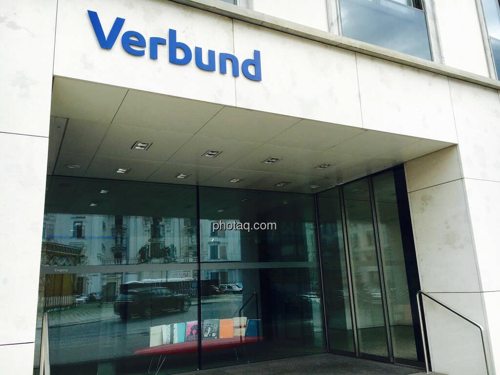 Verbund, Am Hof, Haupteingang, © Josef Chladek/photaq.com (31.07.2016)