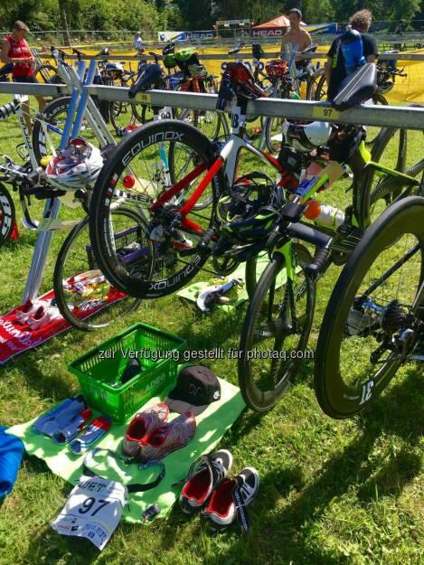 Wechselzone, Triathlon (31.07.2016)