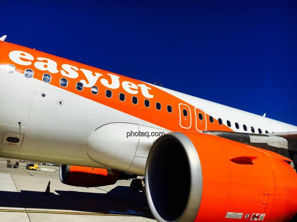 EasyJet, Flugzeug, Düse, © Josef Chladek/photaq.com (01.08.2016)