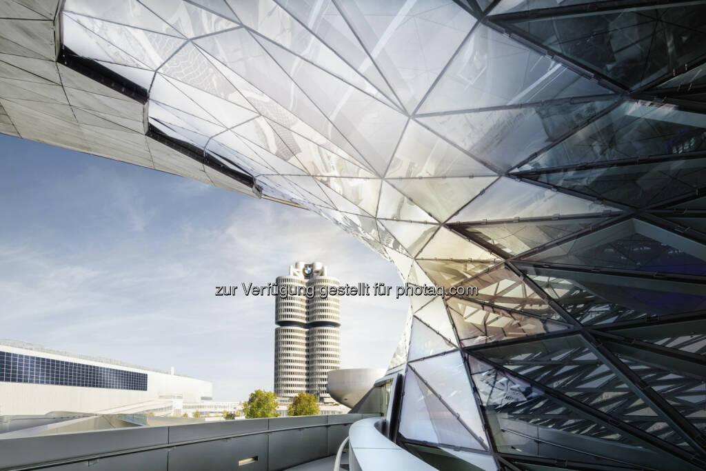 BMW Welt - BMW Group Hochhaus/Konzernzentrale : BMW Group setzt profitables Wachstum fort : Fotocredit: BMW Group, © Aussender (02.08.2016)
