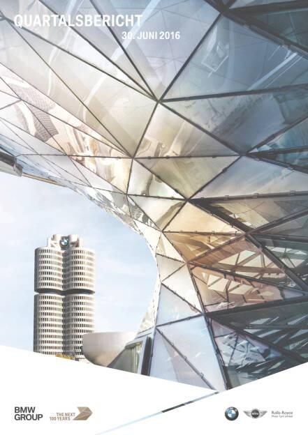 BMW Group Quartalsbericht zum 30. Juni 2016, Seite 1/57, komplettes Dokument unter http://boerse-social.com/static/uploads/file_1544_bmw_group_quartalsbericht_zum_30_juni_2016.pdf (02.08.2016)
