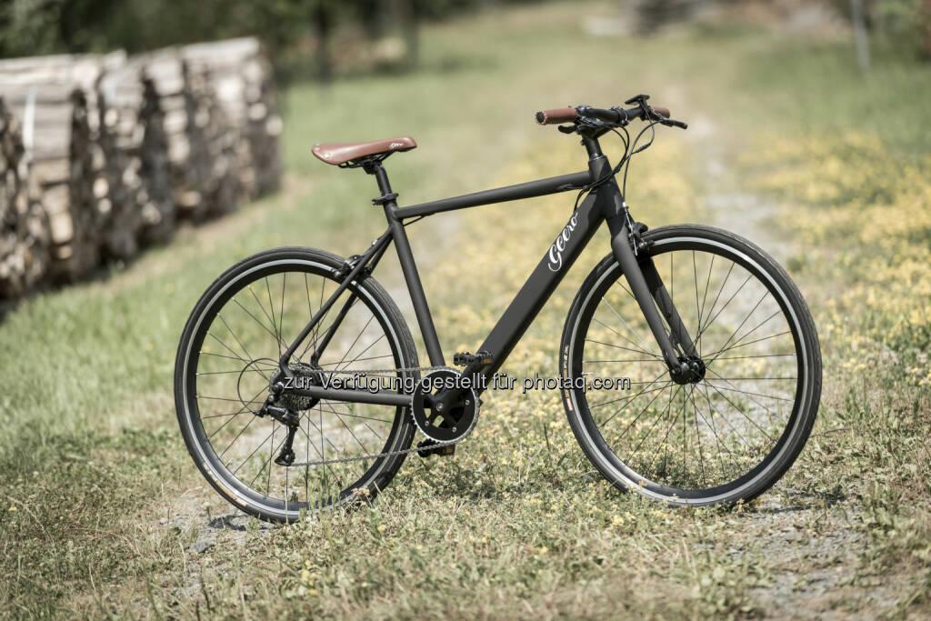 """Geero E-Bike """"Vintage Vinyl Black"""" : Niceshops steigt in E-Bike-Markt ein : """"Geero"""" wurde gemeinsam mit dem steirischen Unternehmen bikee entwickelt : Fotocredit: Niceshops GmbH/Werner Krug,2015 www.derkrug.at, © Aussendung (02.08.2016)"""