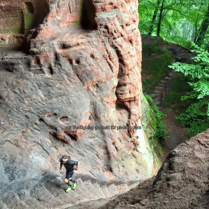 Florian Neuschwander: Wisst ihr wo ich heute unterwegs war? Echt Amok geile Trails hier!