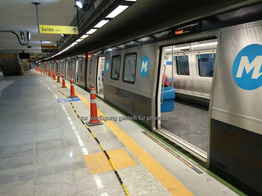 Metro in Rio de Janeiro : Kapsch CarrierCom errichtet Funknetz für U-Bahn-Linie in Rio de Janeiro zeitgerecht vor den Olympischen Spielen 2016 : Fotocredit: Kapsch AG, © Aussendung (04.08.2016)