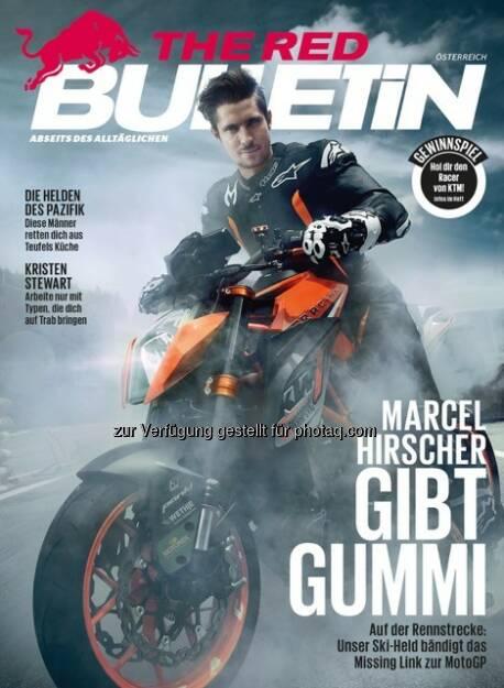 The Red Bulletin : Neuer Vertriebskanal für das Active-Lifestyle-Männermagazin - mit den Oberösterreichischen Nachrichten : Fotocredit: Red Bull Media House GmbH, © Aussender (08.08.2016)