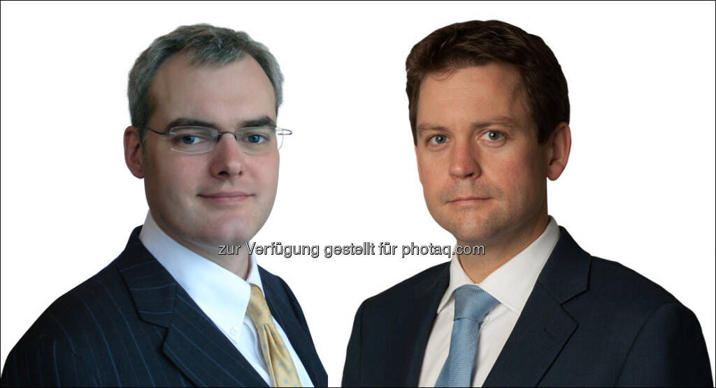 Patrick Flynn (Portfoliomanager), Tom Douie (Head of Intermediary) : Neuberger Berman startet mit neuem Global High Yield Bond Fonds : Fotocredit: www.red-robin.de, © Aussender (08.08.2016)