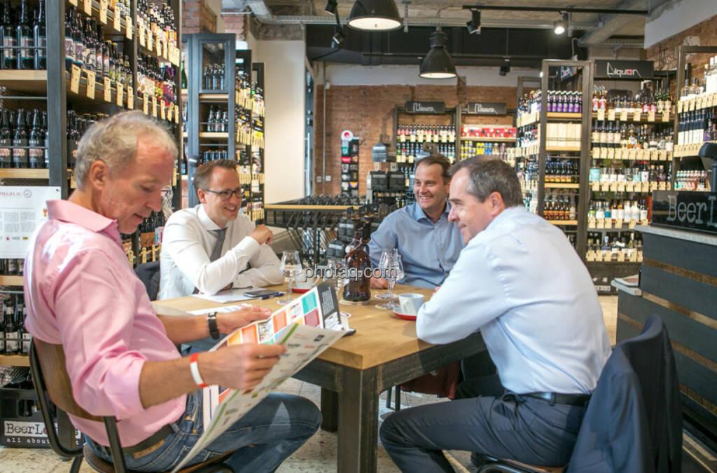 Mit Stefan Maxian, Christoph Schultes und Wolfgang Matejka bei BeerLovers (09.08.2016)