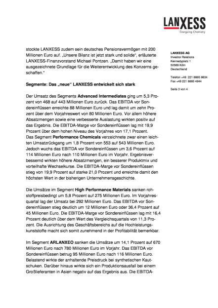 Lanxess erhöht Ergebnisprognose für 2016, Seite 3/4, komplettes Dokument unter http://boerse-social.com/static/uploads/file_1592_lanxess_erhoht_ergebnisprognose_fur_2016.pdf (10.08.2016)