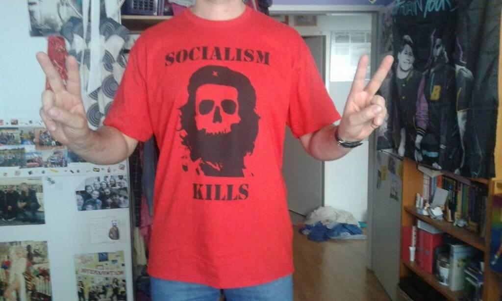 Sozialismus killt, © diverse photaq (10.08.2016)