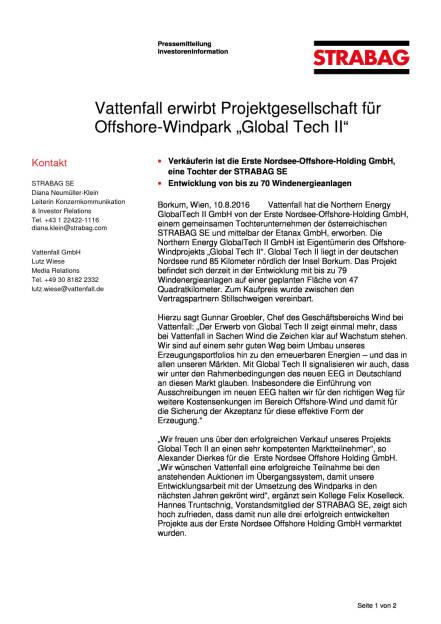 Strabag: Vattenfall/Global Tech II, Seite 1/2, komplettes Dokument unter http://boerse-social.com/static/uploads/file_1604_strabag_vattenfallglobal_tech_ii.pdf (10.08.2016)