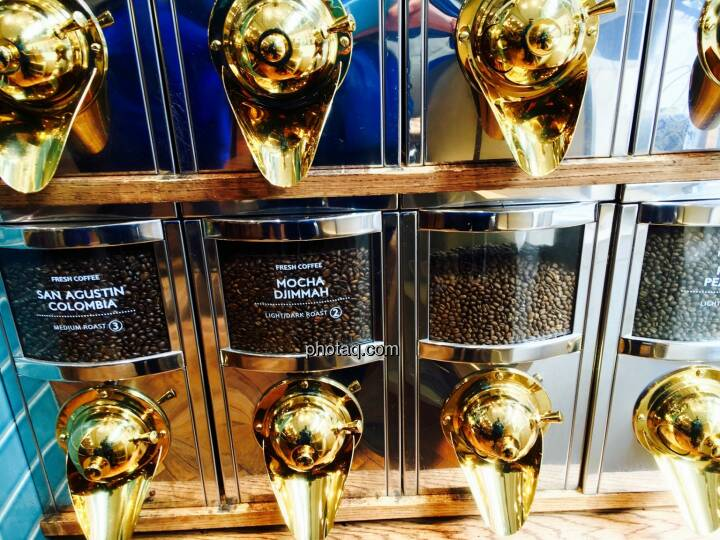 Kaffee, Gold, Rohstoffe