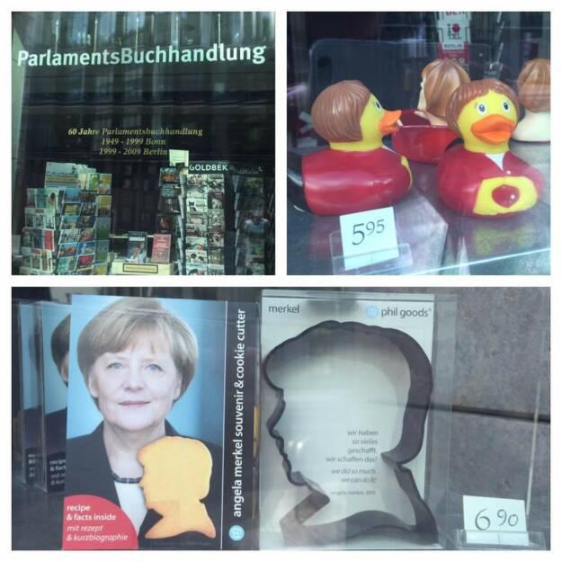 Angela Merkel als Quietscheentchen (by Christian Röhl) (14.08.2016)