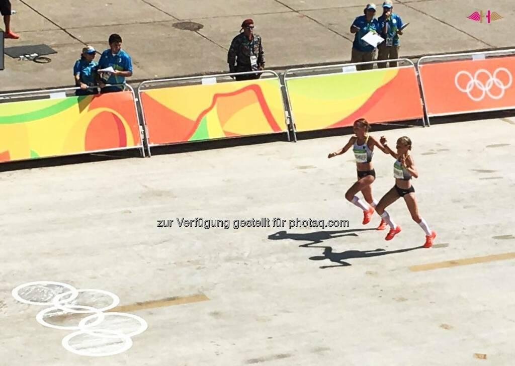 Hahnertwins, Marathon Rio 2016, &copy; <a href=