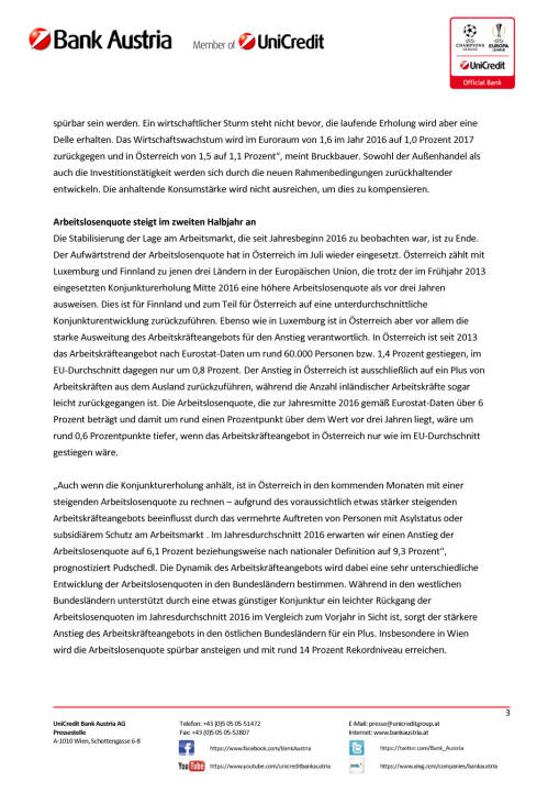 Bank Austria: Keine Spur von  Brexit-Folgen in Österreichs Wirtschaft, Seite 3/5, komplettes Dokument unter http://boerse-social.com/static/uploads/file_1619_bank_austria_keine_spur_von_brexit-folgen_in_osterreichs_wirtschaft.pdf