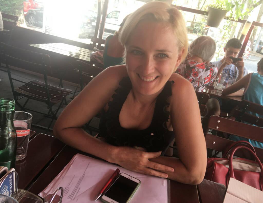 Mit Julia Wawrik (17.08.2016)