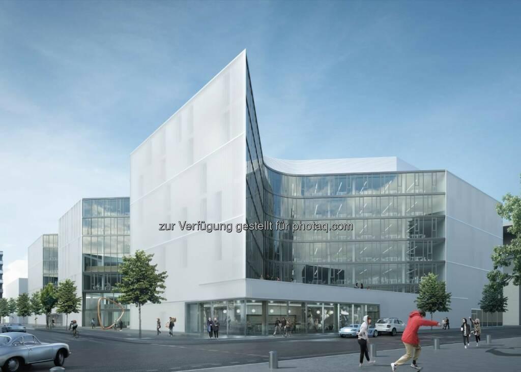 "Fassade Zalando : Porr Deutschland baut ""Zalando Headquarter"" in Berlin : Fotocredit ©Henn, © Aussendung (18.08.2016)"