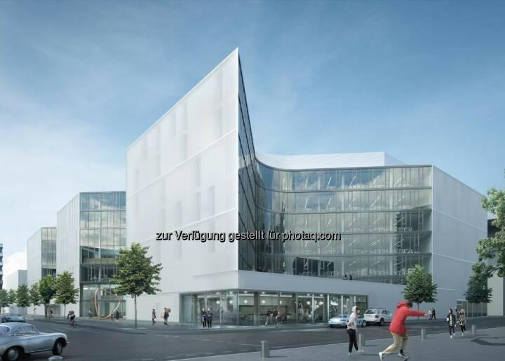 "Fassade Zalando : Porr Deutschland baut ""Zalando Headquarter"" in Berlin : Fotocredit ©Henn"
