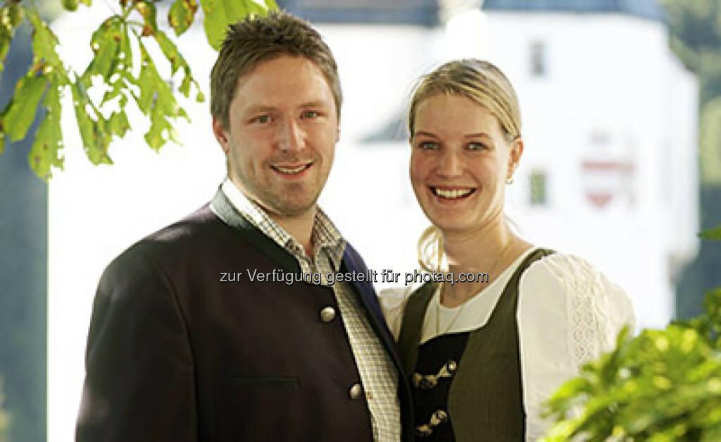 Thomas Radinger & Maria Radinger (Mariasteinerhof) : Mariasteinerhof und ncm verlängern erfolgreiche Zusammenarbeit : Fotocredit: Franz Baldauf, © Aussendung (22.08.2016)