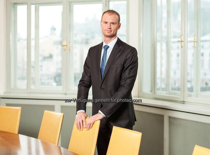 """Michael Rampler leitet neue Stabstelle """"Business Development"""" : Bankhaus Spängler stärkt die Bereiche Innovation und Digitalisierung : Fotocredit: Bankhaus Spängler"""