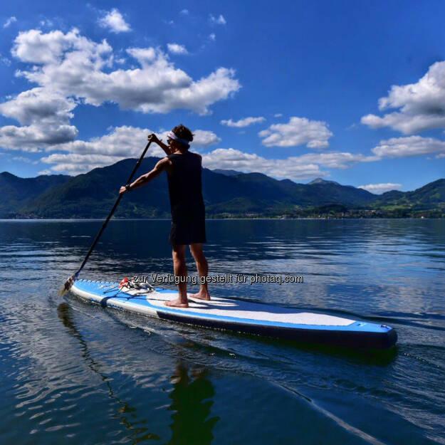 Florian Neuschwander, SUP, Stand, paddeln, See, © Florian Neuschwander (24.08.2016)