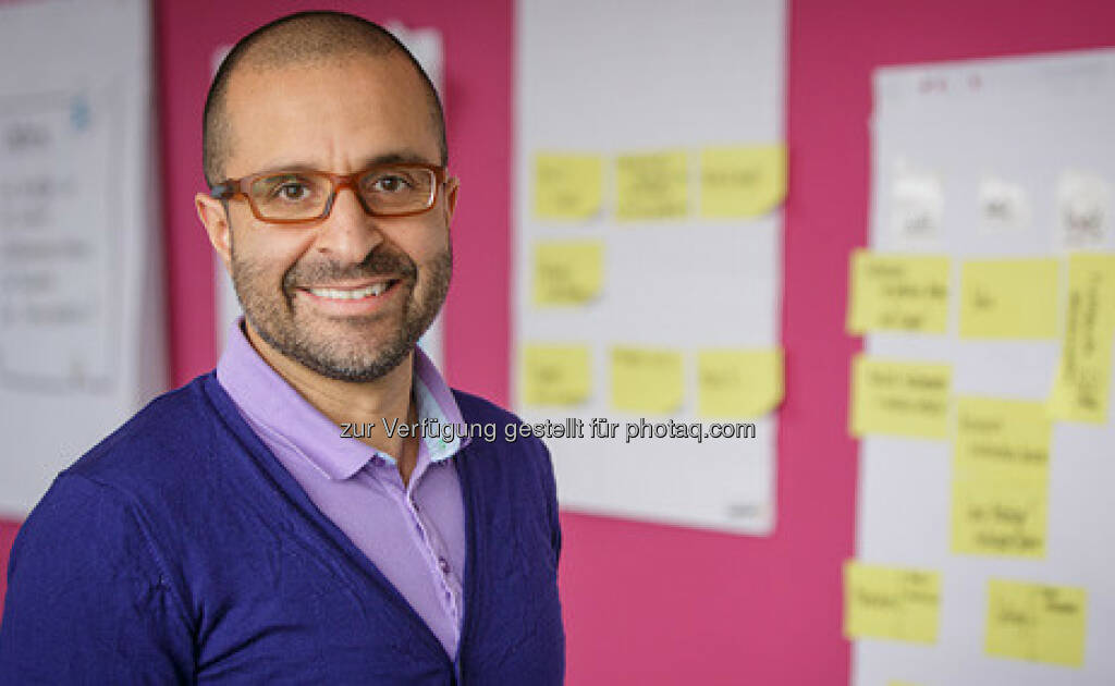 Reza Moussavian, Senior Vice President HR Digital & Innovation : Arbeit 4.0 will geübt sein : Fotocredit: Deutsche Telekom AG, © Aussender (24.08.2016)