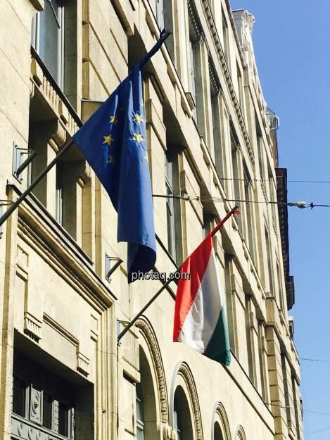 EU, Ungarn, Flagge, © Josef Chladek/photaq.com (25.08.2016)