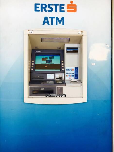 Erste ATM, Bankomat, © Josef Chladek/photaq.com (25.08.2016)