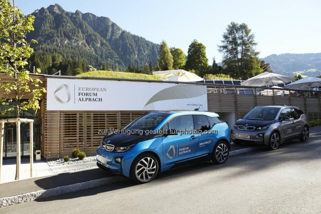 BMW Group seit 10 Jahren Mobilitätspartner des Europäischen Forum Alpbach : Fotocredit © BMW Group, © Aussendung (26.08.2016)